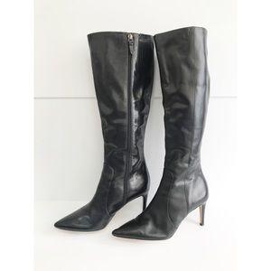 VIA SPIGA Dacia Knee High Boot Stiletto Heel